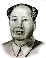 "Mao zhe dong ""chairman Mao"" by JamesMarsano"