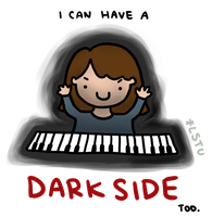I can have a dark side. by LetsSaveTheUniverse