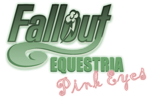 Fallout Equestria: Pink Eyes logo by OliveBranchMLP