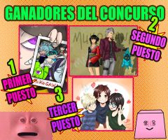 CONTEST WINNERS by Mafer