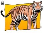 WWF- Tiger by OmbroParanojo