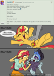 [MLP] - Ask Me: Sunset Shimmer (2) by Burning-Heart-Brony