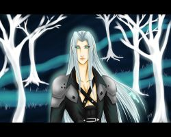 gift - Sephiroth by x-Lilou-chan-x