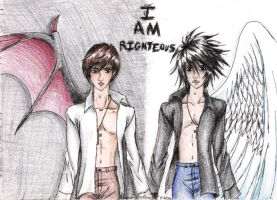 I AM RIGHTEOUS by Yahiko-chan