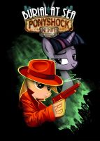 Ponyshock Infinite Burial at Sea by dan232323