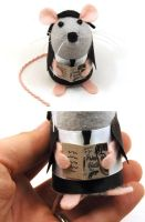 Vincent Vega Mouse by The-House-of-Mouse