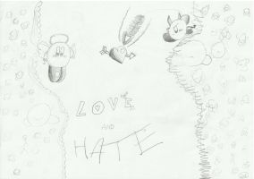 Love And Hate by KirbyDude64