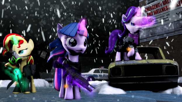 [SFM Ponies] Sparks Division by FD-Daylight