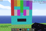 Minecraft - Rainbow Dash Head by mattwo