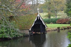 DSC 0041 Timber Boathouse by wintersmagicstock