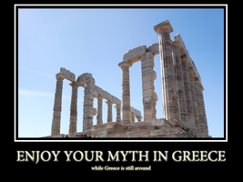Enjoy your Myth in Greece by Sc1r0n