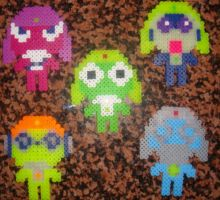 Sgt. Frog Pixel Beads by Dbzbabe