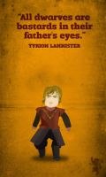 Tyrion Lannister - father's eyes by acidbetta