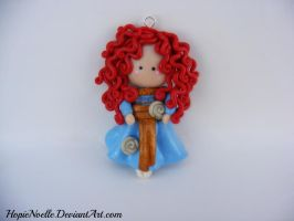 Merida charm by HopieNoelle