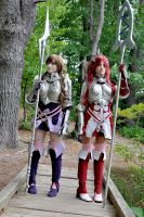 Fire Emblem Awakening - Sumia and Cordelia by KHalfkey