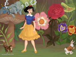Summer of Disney: Snow white in Wonderland by Colleen15