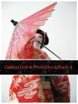 Geisha Doll Pack 4 by OnTheStock
