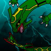 Rayquaza by Scarangel999
