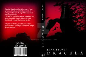 Dracula book cover by PSYCHONOID