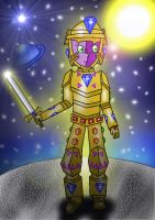 Cosmic Knight by Trifong