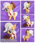 Pony Plush: AppleJack -FOR SALE- by SnowFright