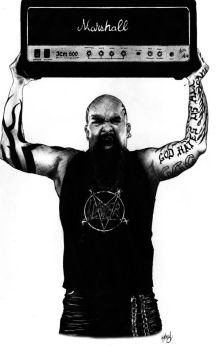 Kerry King Slayer Marshall by ackman69