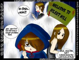 A Silent Hill Comic _Cover_ by maelstromb