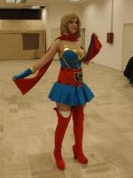 Supergirl Cosplay (shot 2) by Azael1332Ragnarok