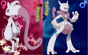 Mewtwo Gender Idea, critiques? by zaneGrimm430