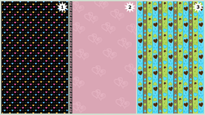 Custom Boxes Backgrounds - 3 by Dianabolique