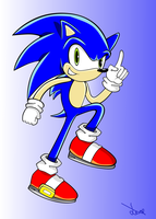 Sonic Coloured by leafstorm99