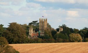 Highclere Castle (Downton Abbey) by OghamMoon