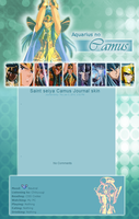 SS journal Skin: Camus by Floryblue12