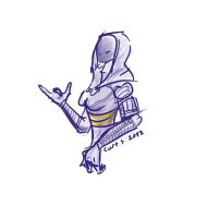 Tali XD by CurtSeth