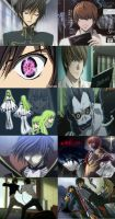 Death Note VS Code Geass by DS41