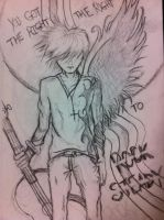 Rock Steady, Angel Dude by chickymuyo
