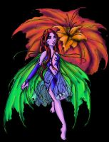 Faery - Coloured by Kraheera