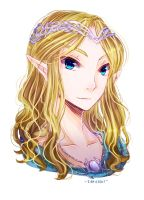 Male Galadriel by ibahibut