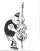 Psychobilly Ogre by JoeyDeadcat