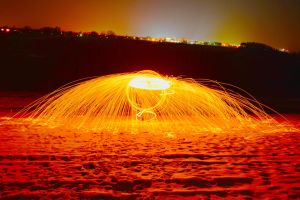 Steelwool Spinning (edited) by MacroVISUAL