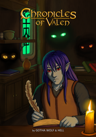 Chronicles of Valen - cover by GothaWolf