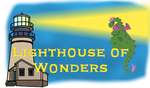 Lighthouse of Wonders logo by vildtiger