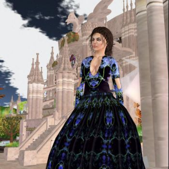 Lady Anne at the Library by BevAnnieEnchanted