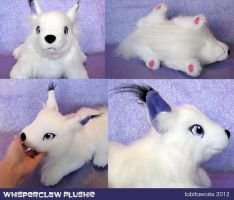 Whisperclaw Plushie 2 by GrowlyLobita