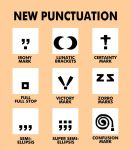 New Punctuation by The-Mirrorball-Man
