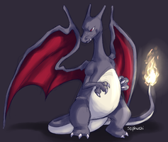 Shiny Charizard by aWWEsomeSoph