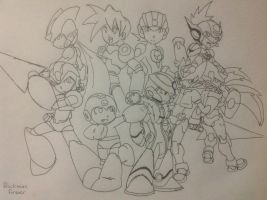 Rockman Forever by BetaX64