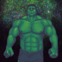 Hulk Smashed by kaileighblue