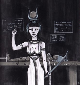 Isis, the Life Bringer by Elianor-Hesperus