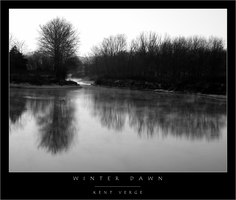 Winter Dawn 2002 BW by wulfster
